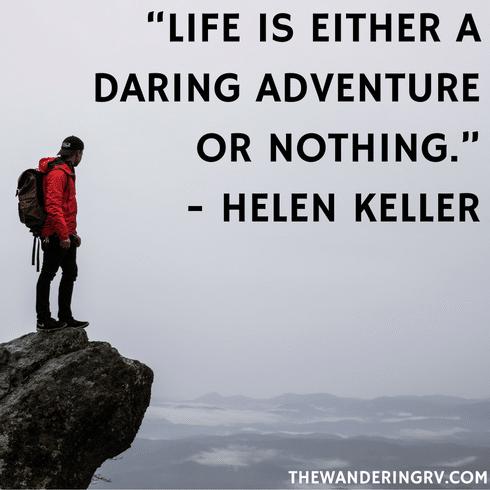 Travel quotes - Helen Keller