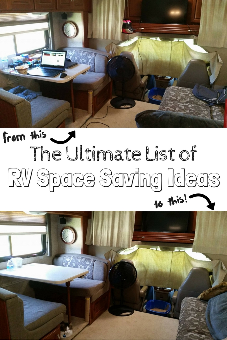 RV Storage Ideas: 100+ RV Space Saving Ideas to Organize Your RV