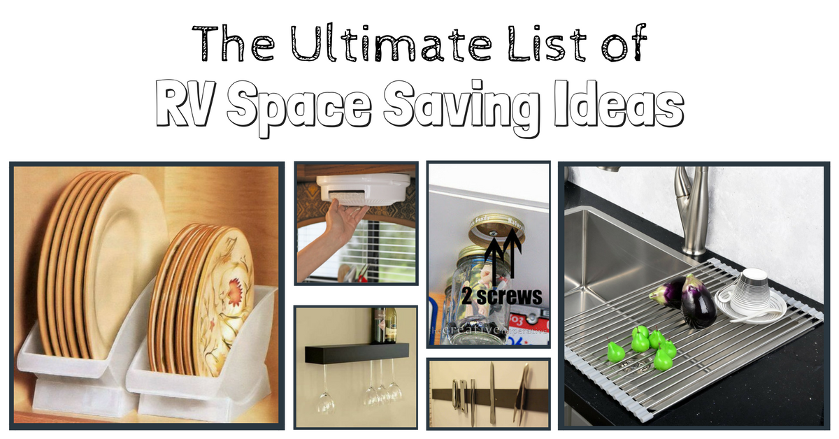 100 Rv Space Saving Ideas For Ultimate Rv Organization Get Tidy