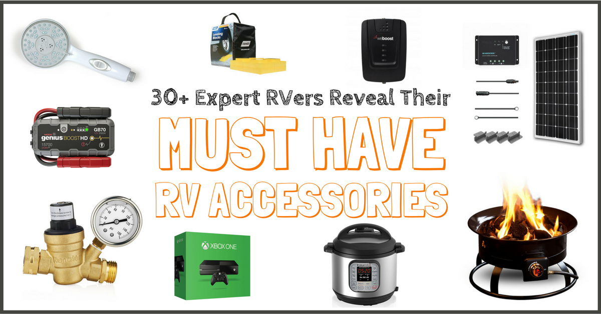 50 Must Have Rv Accessories Rv Supplies In 2018 Expert Poll