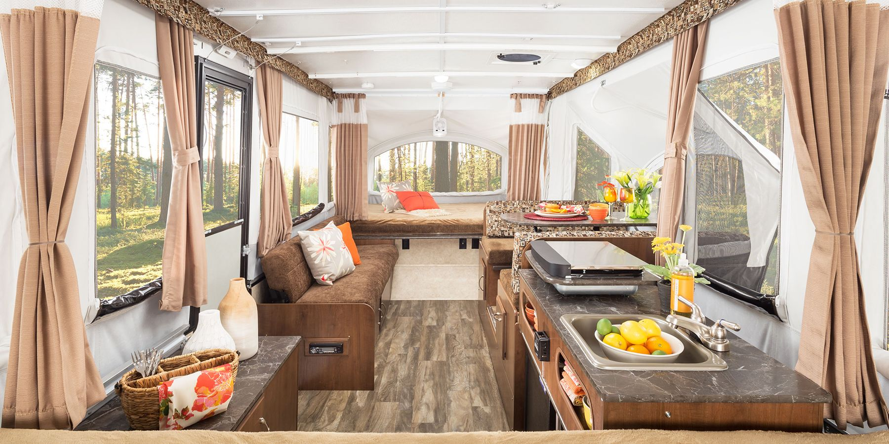 Perfect Small Campers With Bathrooms When Nature Calls - Popup with bathroom