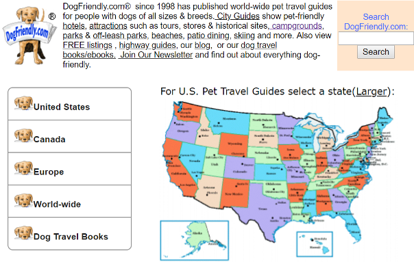 Dog friendly RV parks