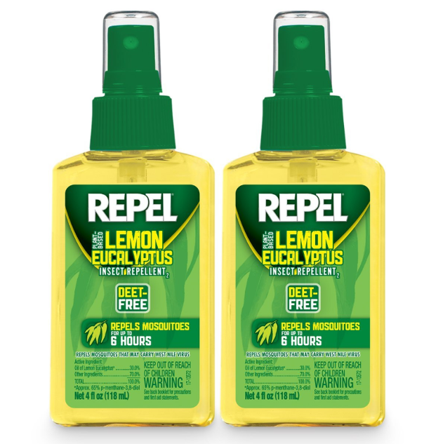 Deet-free bug spray