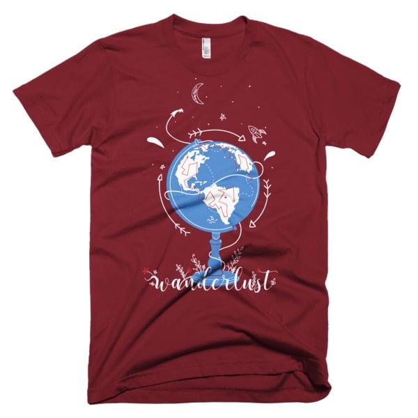 Wanderlust Shirt Cranberry