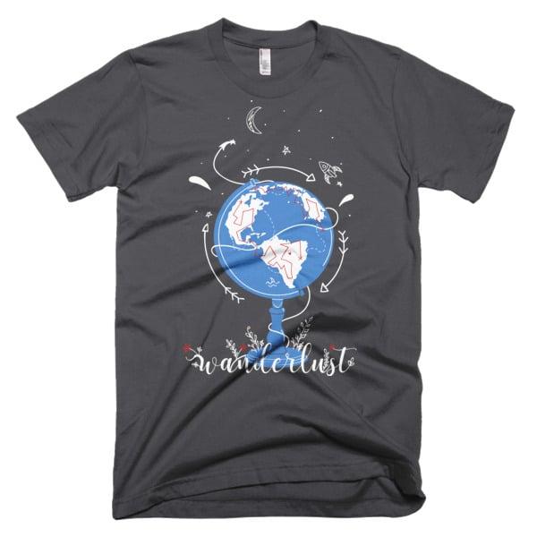 Wanderlust Shirt Gray