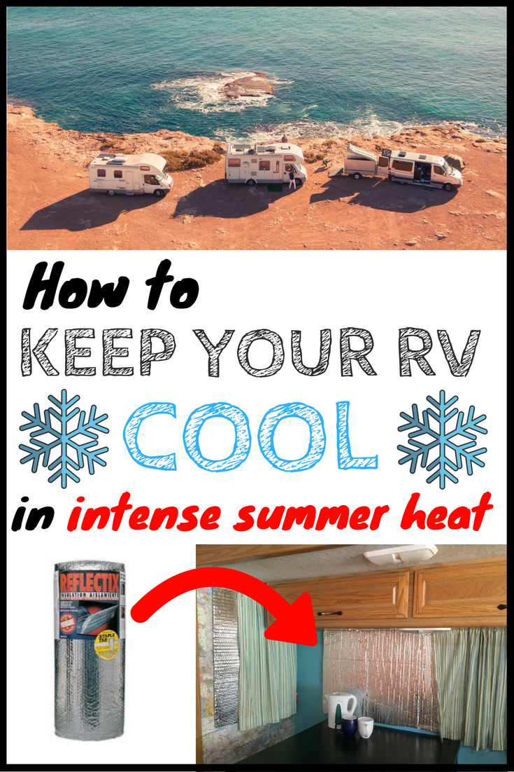 How to keep RV cool in summer