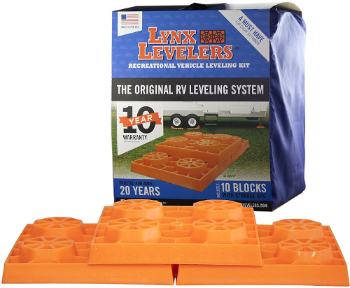 Tri-Lynx RV Travel Trailer Leveling Blocks