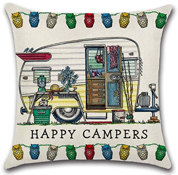 Happy Campers Pillow