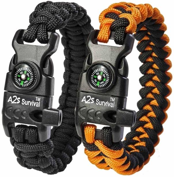 1 Paracord Survival Bracelet