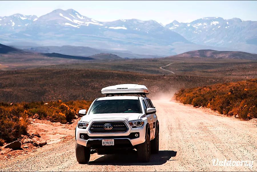 Toyota Tacoma Offroad Truck Rental