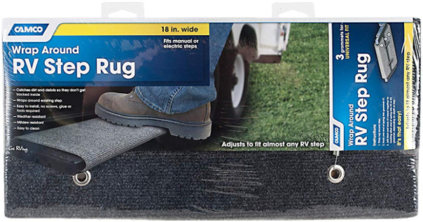 Wrap Around RV Step Rug