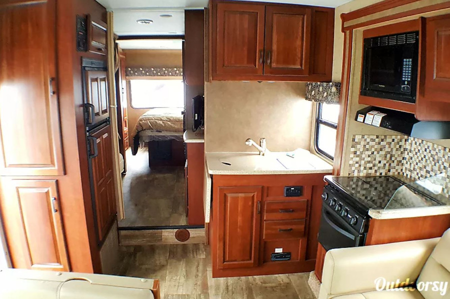 Inside Forest River RV Rental Hawaii