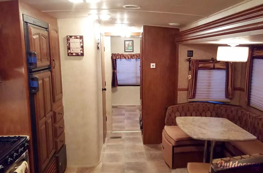 Inside Forest River Salem Hemisphere RV Rental FL
