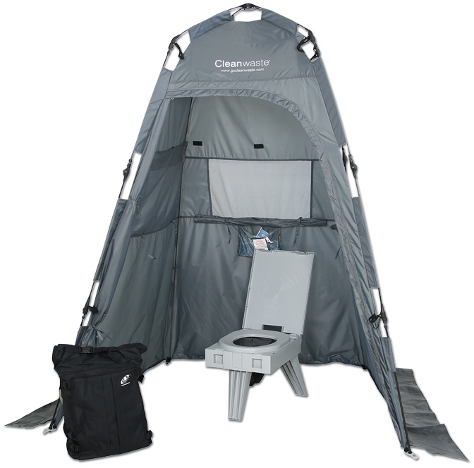 Portable Toilet With Tent Kit