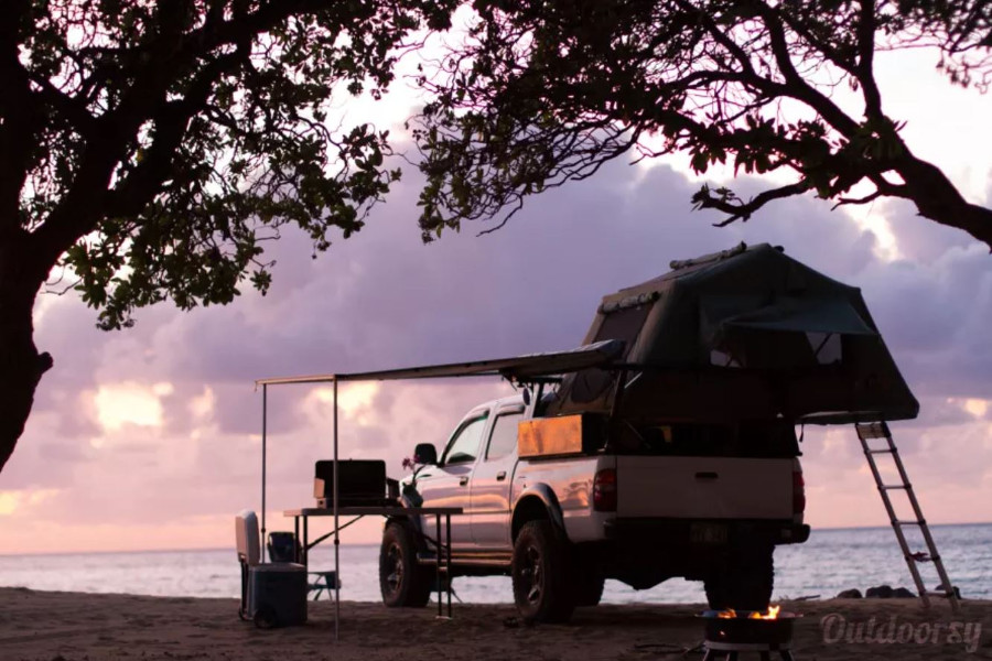Toyota Tacoma RV Rental Hawaii