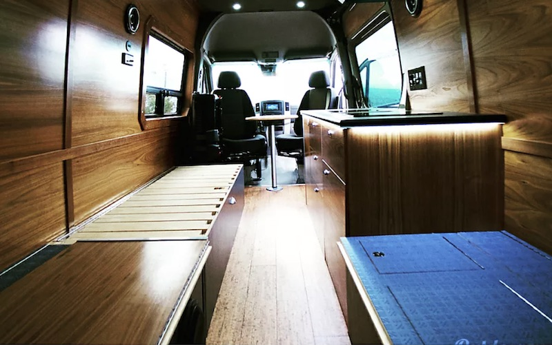 2017 Custom Camper interior