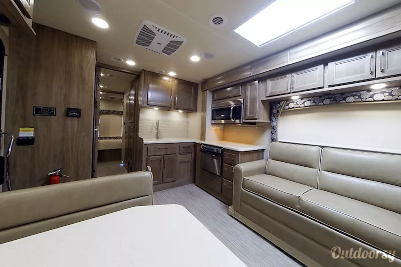 2018 Entegra Coach Esteem 31L interior