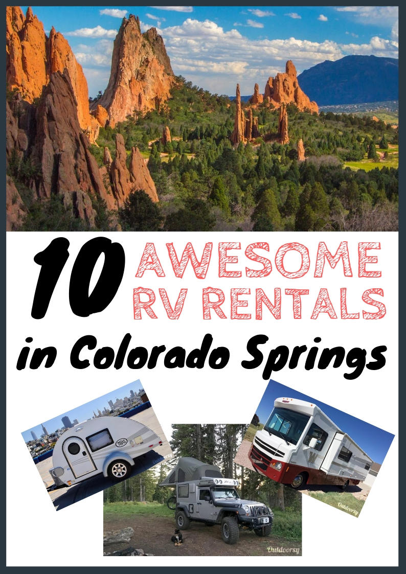 RV Rentals Colorado Springs