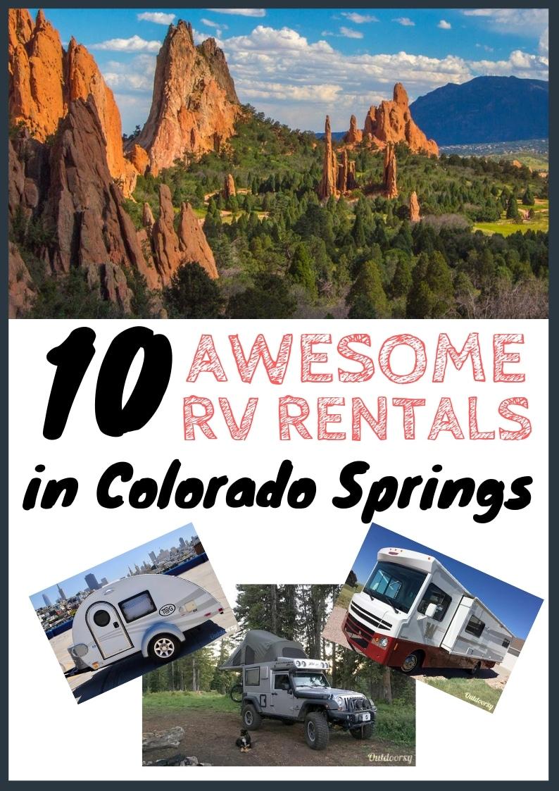 10 Best Camper & RV Rentals in Colorado Springs [$50