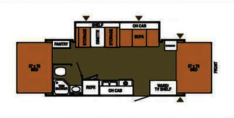 2004 Starcraft Travel Star Floor Plan