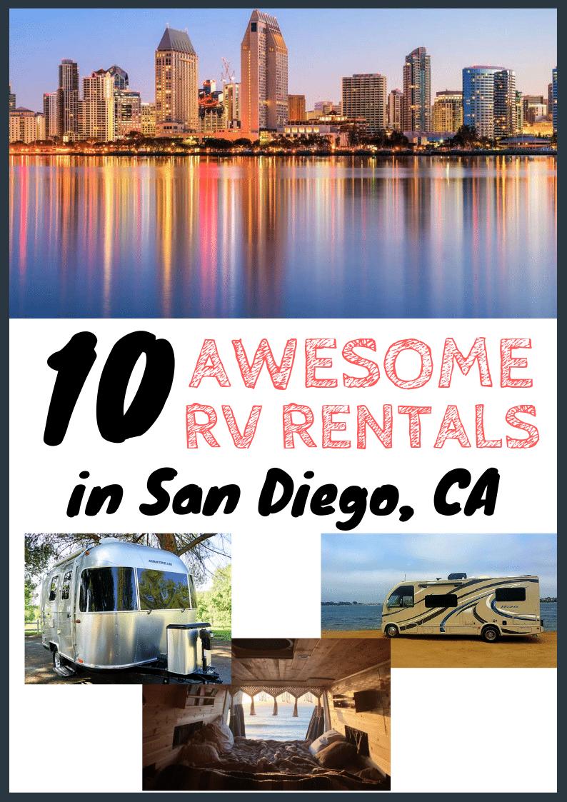 RV Rentals San Diego CA