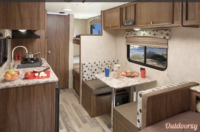 2018 Coachman Clipper Interior