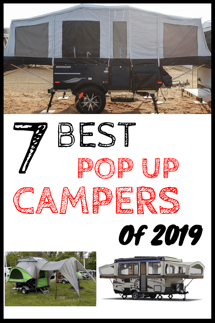 7 Best Pop Up Campers 2019