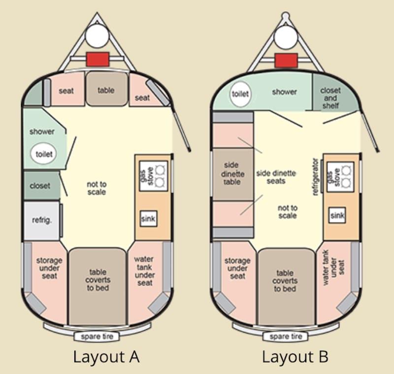 Scamp deluxe floor plans