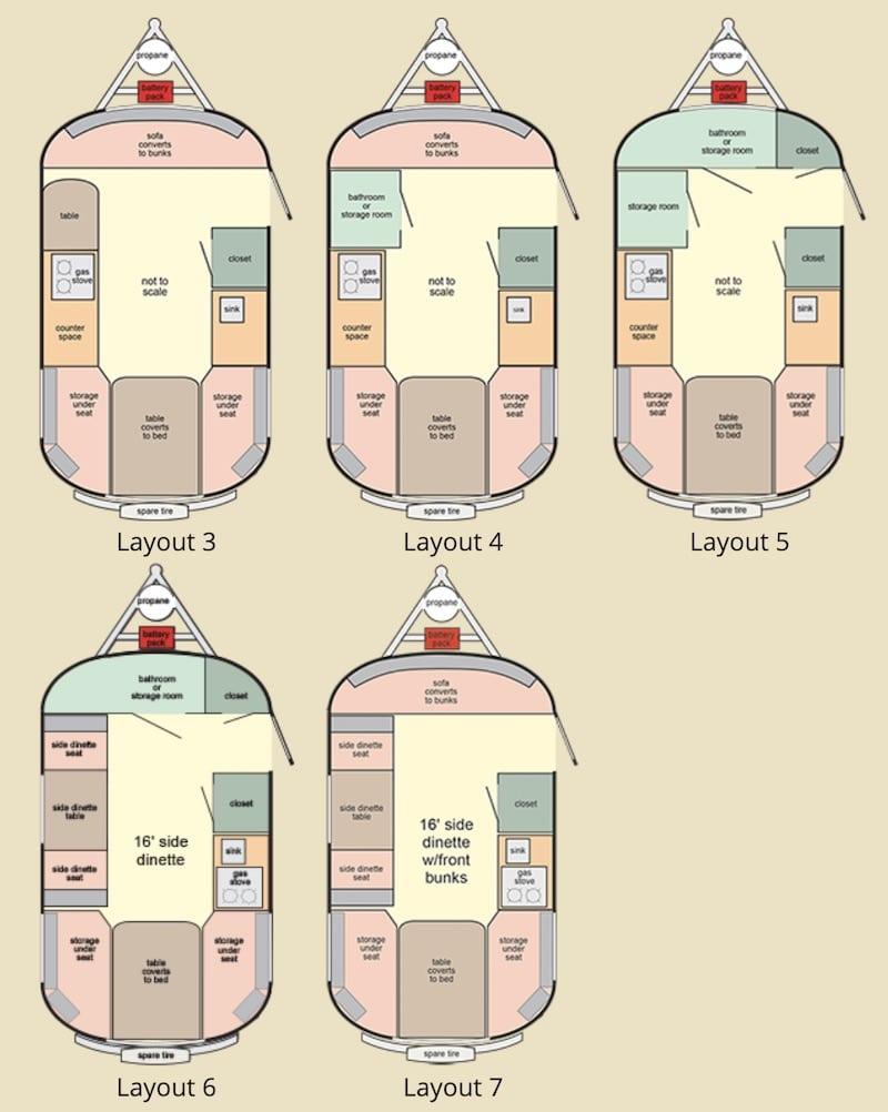 scamp standard floor plans
