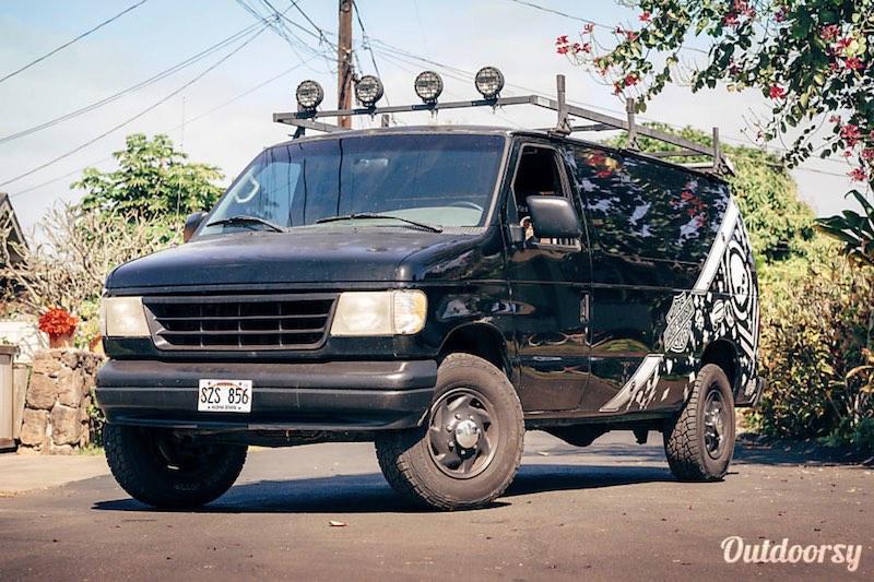 2001 Ford E350