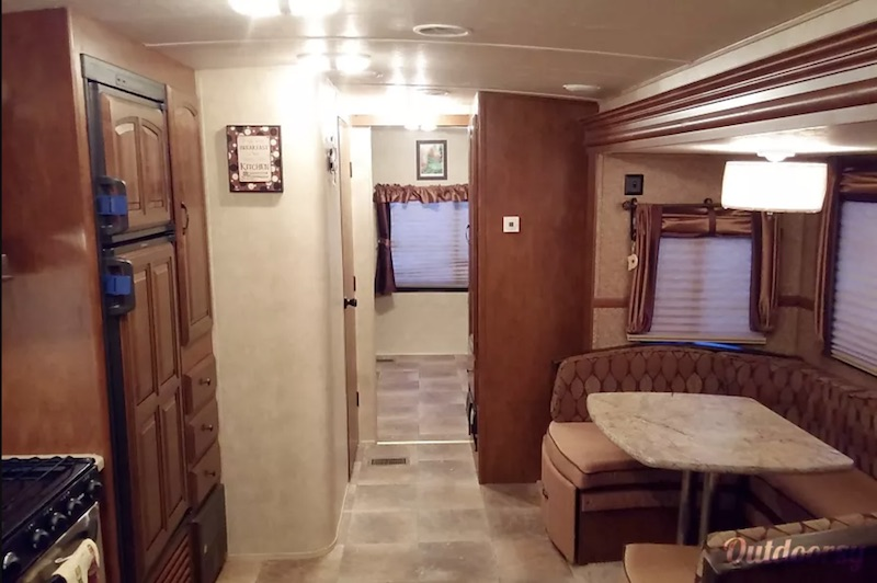 2014 Forest River Salem Hemisphere interior