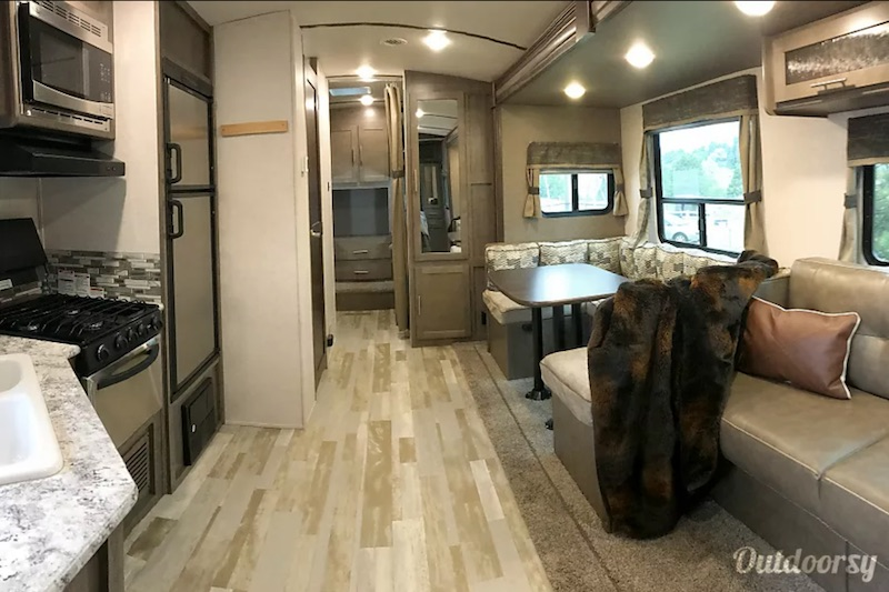 2017 Forest River Surveyor Interior