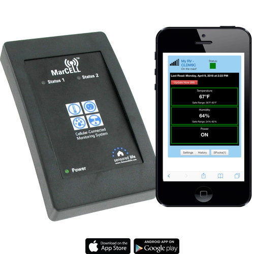 Marcell Temperature Monitoring System