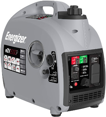Energizer eZV2000P 2000W Gas Powered Portable Inverter Generator