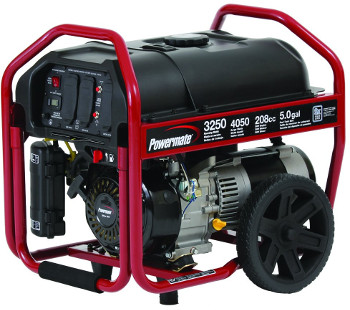 Powermate PM0123250 Gas Powered Portable Generator