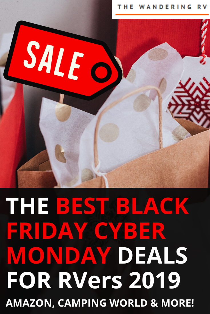 Black Friday Cyber Monday Deals for RVers 2019