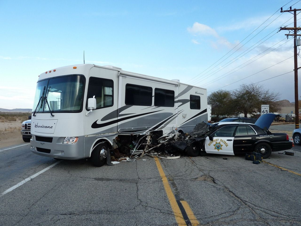 Motorhome Accident