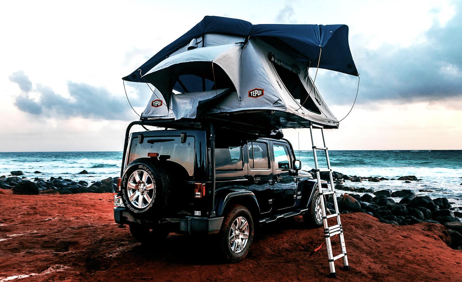 Jeep Wrangler Camper Van Rental