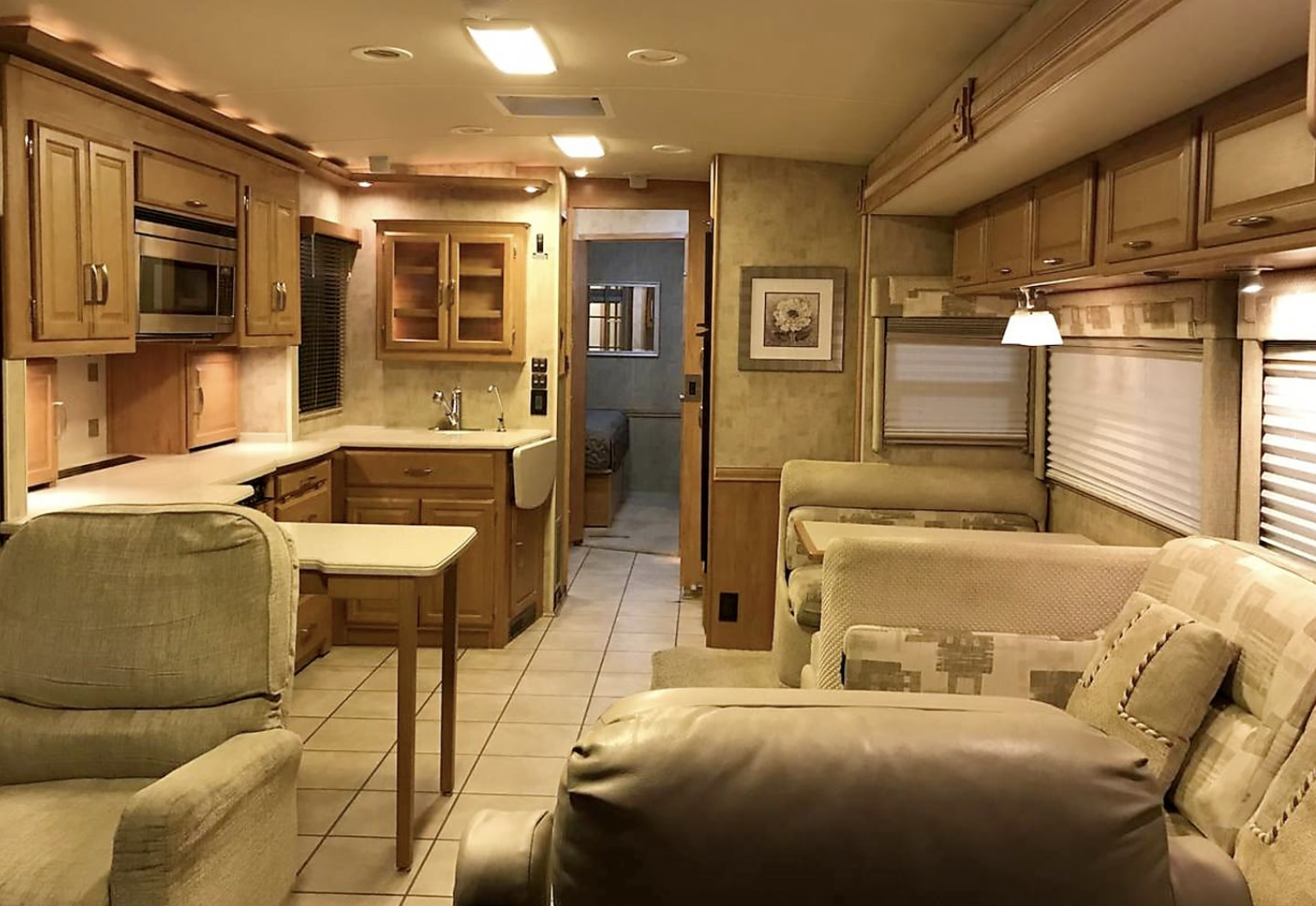 Inside Winnebago