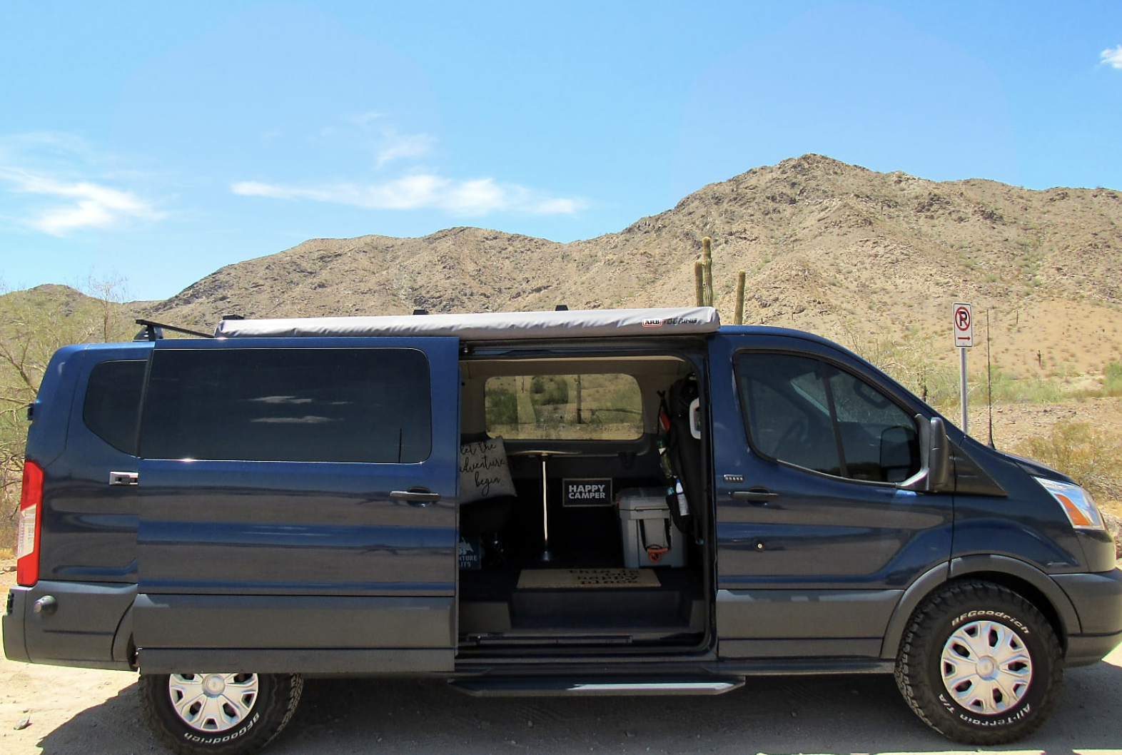 The Big Blue Adventure Van
