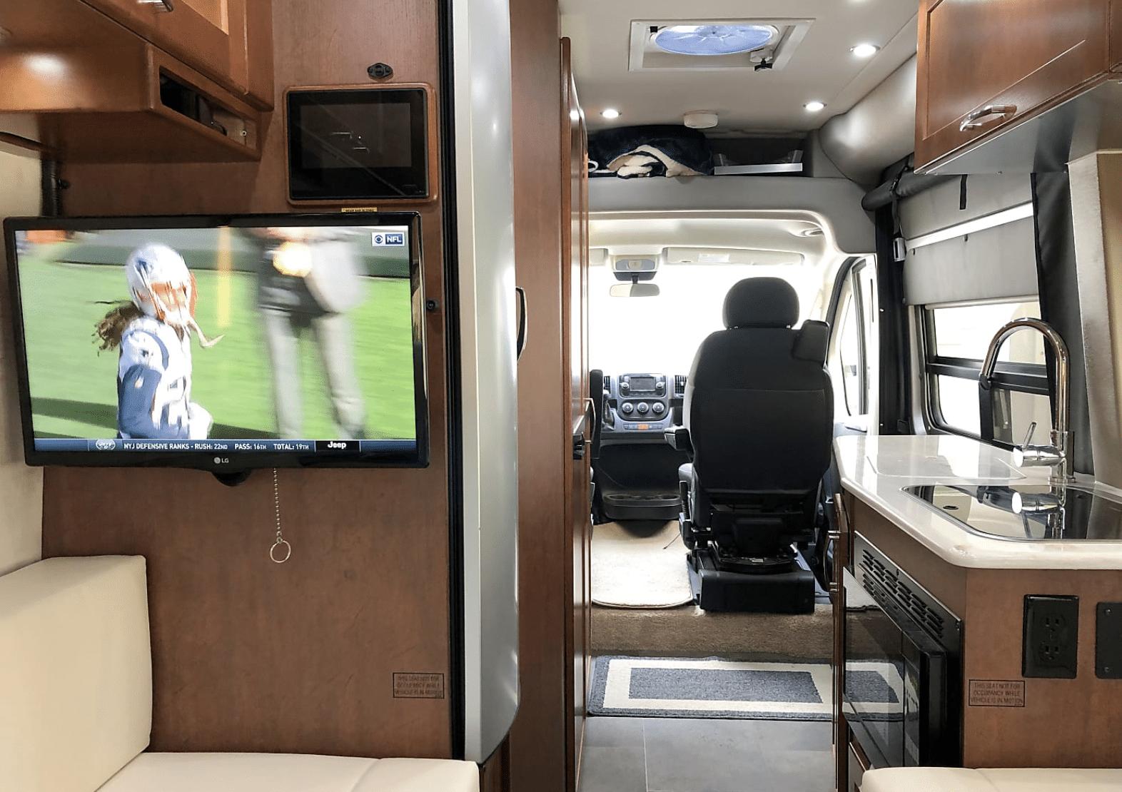 Inside 2018 Lexor Motorhome