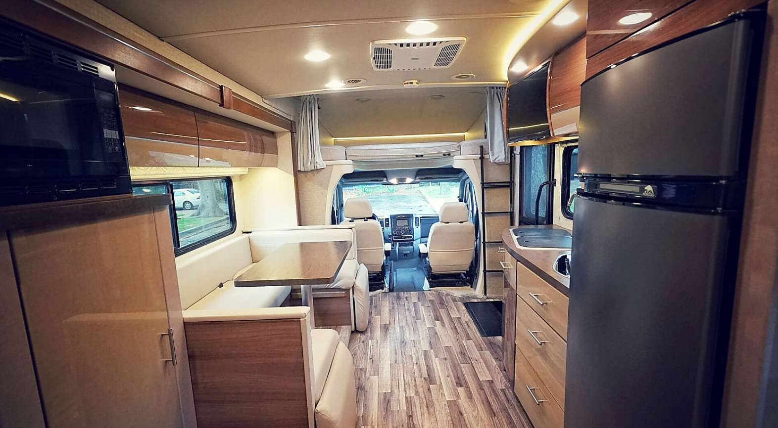 Inside Mercedes Sprinter