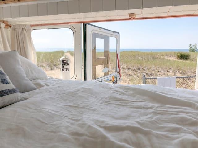 Camper with Beach Access