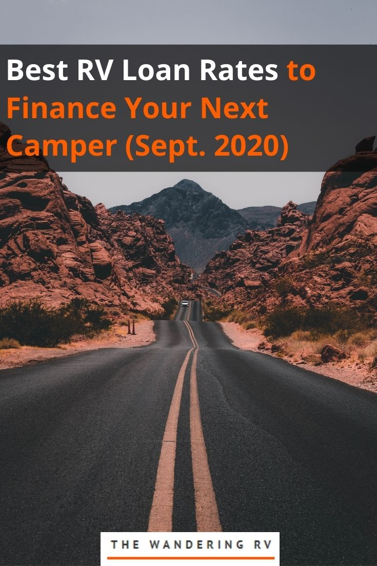 Best RV Loan Rates to Finance Your Next Camper