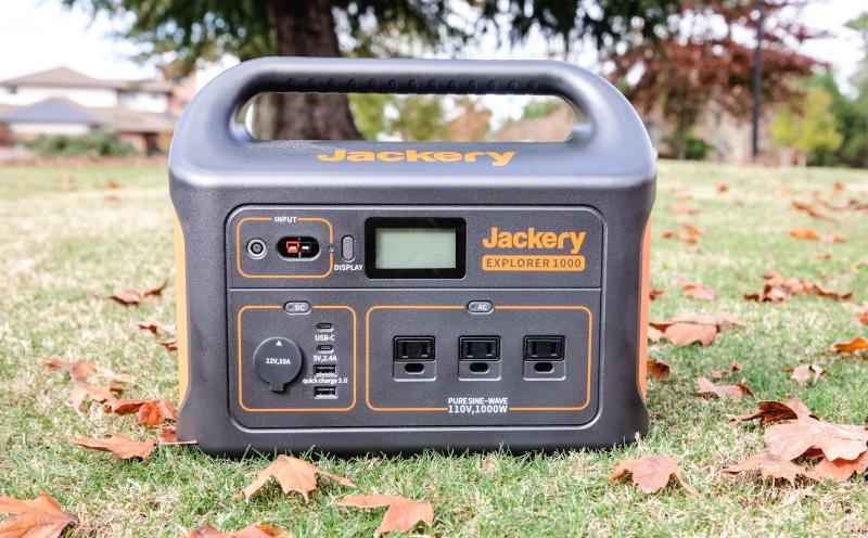 Jackery Explorer 1000 Charging Ports