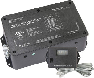 Progressive Industries HW30C 30 Amp Hardwired EMS-HW30C RV Surge & Electrical Protector