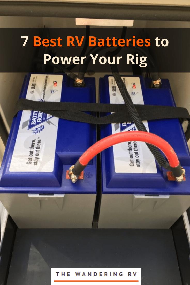 Best RV Batteries