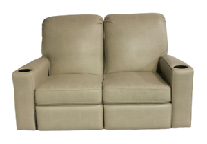 La-Z-Boy Camper Double Recliner Couch Theater Seating