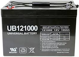 Universal Power Group Deep Cycle AGM Battery