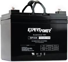 ExpertPower 12v Rechargeable Deep Cycle Battery